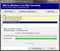 Transfer DBX to Windows Live Mail