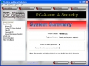 Sistema de alarma y seguridad para ordenadores personales (PC-Alarm and Security System)