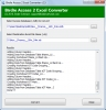 Convert Microsoft Access to Excel