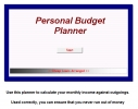 Cheap Loans Budget Planner