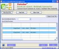 Excel to vCard &amp; Outlook Converter