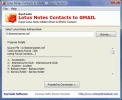 Transfer Lotus Notes Contacts to Gmail Contacts