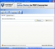 Lotus Notes to PDF Conversion