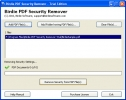 Removal of PDF Lock