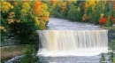 Autumn Waterfall-for Big-Screen TV
