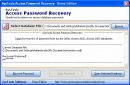 Advance Access Password Recovery