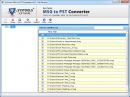 MSG2PST Conversion Freeware