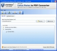 Convert Lotus Notes Document to PDF