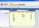 Recover Address book Outlook Contacts